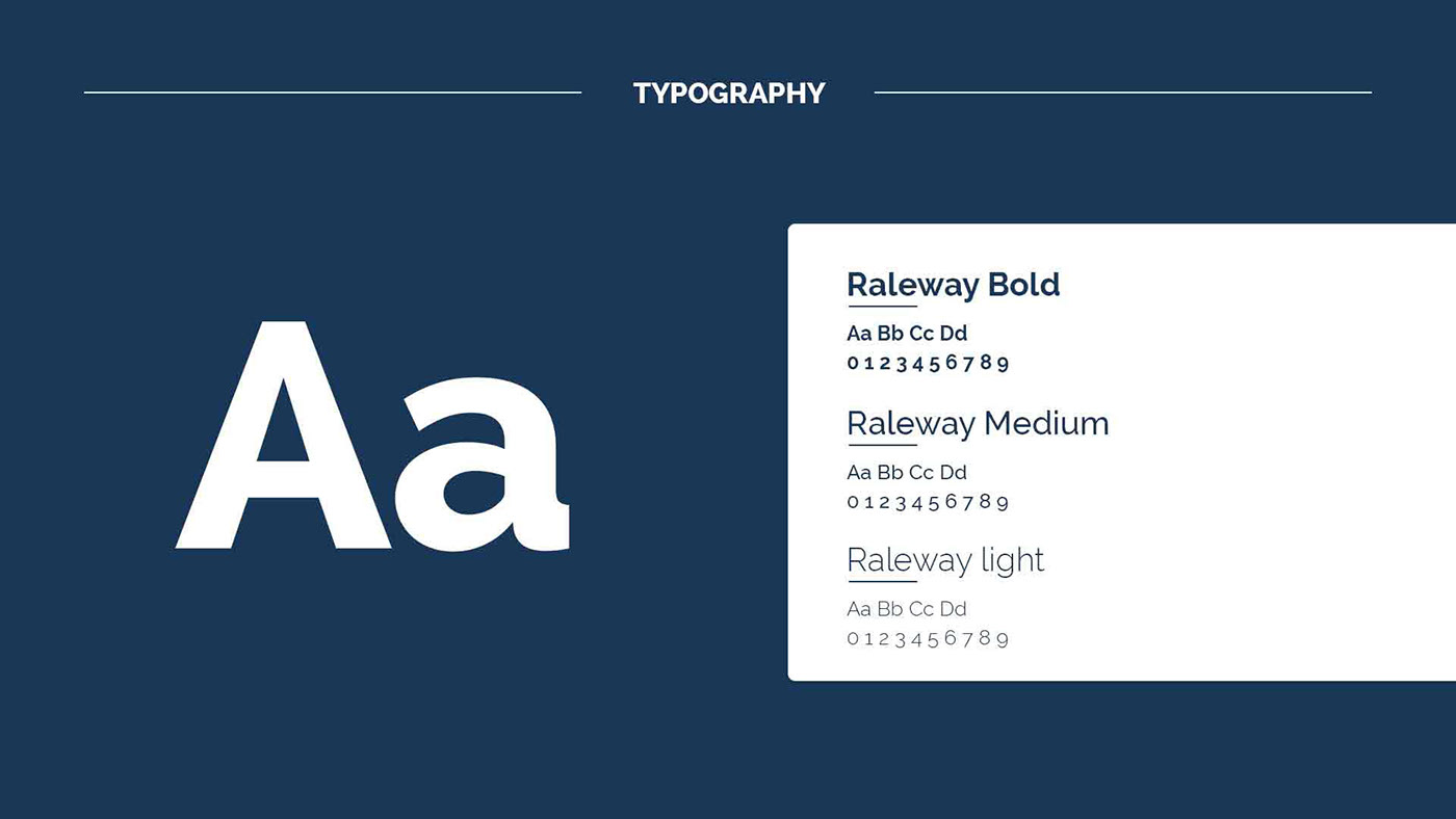 Typography design for Candour